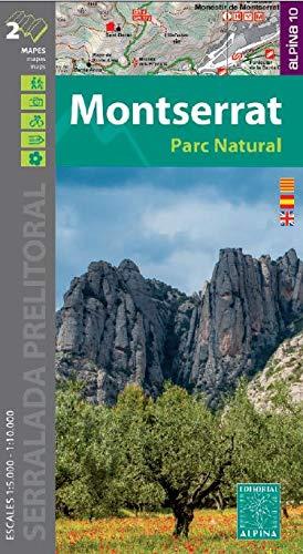 Montserrat 1: 10.000/ 1: 5.000: PARC NATURAL (ALPINA 10 -