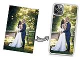 IDcaseFR Coque Silicone Bumper Souple IPHONE 11 - Coque téléphone avec Photo personnalisée,...