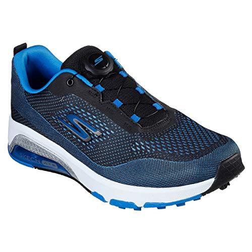 Skechers Air Twist Boa Waterproof - Zapato de Golf para Hombre, Blue/Black (Numeric_42_Point_5)