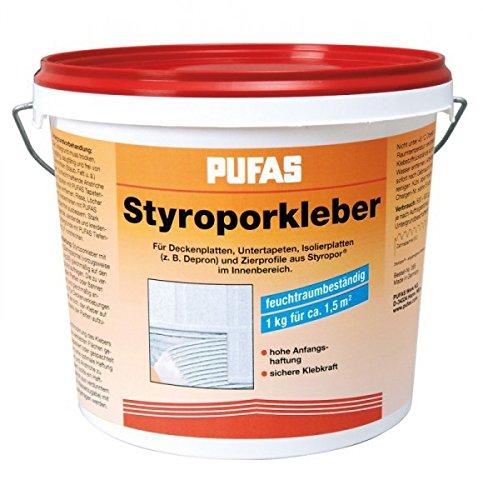 Pufas Styroporkleber und Renoviervlies Kleber - Hartschaumkleber 4kg