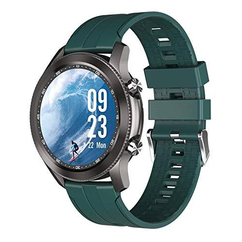 Reloj inteligente, actividad al aire libre resistente al agua y a prueba de sudor función de llamada reloj deportivo actividad rastreador de actividad, reloj inteligente contador de pasos calorías