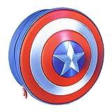 Cerdá - Mochila Infantil Capitan America de The Avengers en 3D - Licencia Oficial Marvel Studios