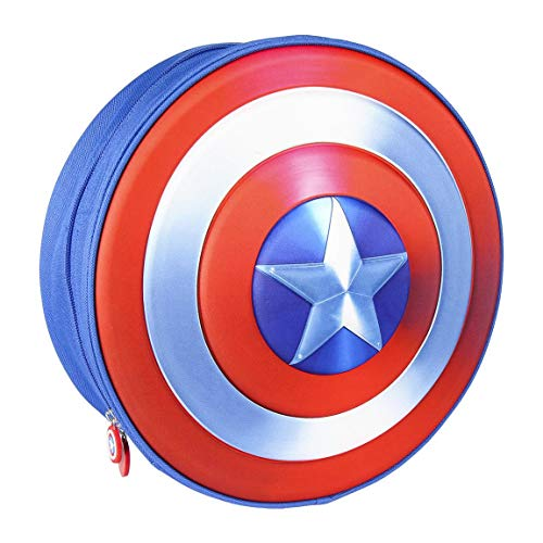 CERDÁ LIFE S LITTLE MOMENTS: Mochila Infantil Capitan America de The Avengers en 3D
