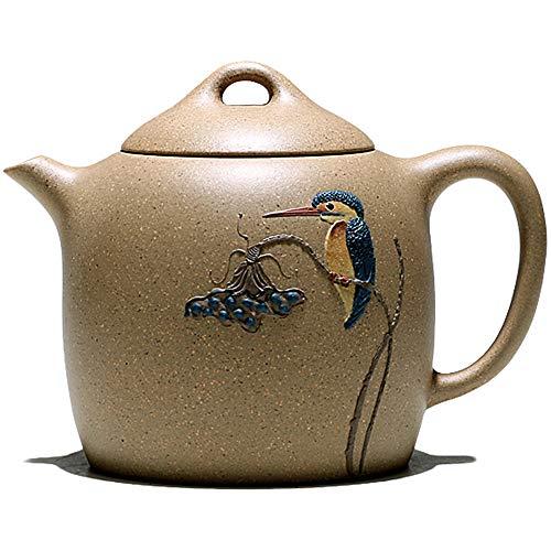Lila Ton Teekanne Chinese Yixing Clay Pot Zisha ZiNi Gongfu Cha für Loose Tea Tea