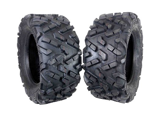 MASSFX 2 Set ATV Tires 27X11-14 Rear ATV Durable Dual Compound 6 Ply 27X11x14