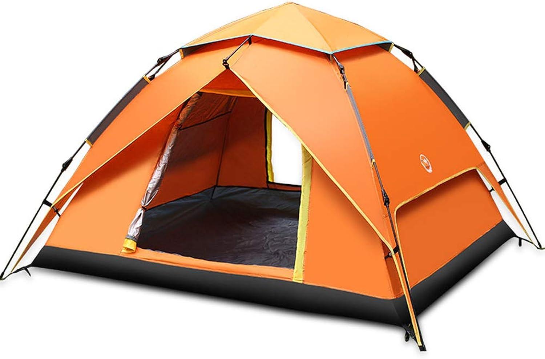 Zhixing Wasserdichtes Zelt, 2-4 Automatisches Pop-Up-Zelt, Doppelt Wasserdicht, UV Schutz, Ideal für Strand, Outdoor, Reisen, Wandern, Camping, Jagd, Angeln, etc B07PRLHH4B  Schöne Farbe