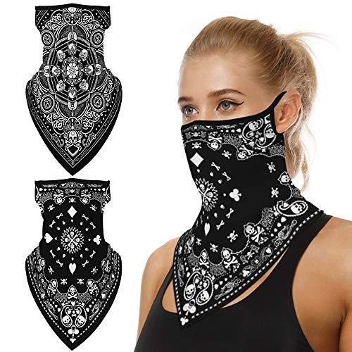 FLOFIA 2pcs Pañuelo Mascara Facial...