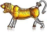 Tiger Whisky Decanters Garrafa Decantador De Vino De 1000 Ml Aireador Decantador Reutilizable Fiestas, Clubes Nocturnos, Bares Y Fiestas De Karaoke 3.15 (Color: Tiger, Tamaño: 1000ml)