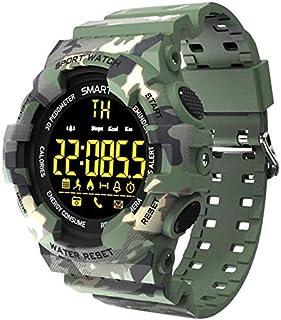 XYCSM Fitness Tracker Fitness Tracker, Pedómetro Impermeable Smart Watch con Monitor de Ritmo Cardíaco Del Sueño, Tracker Stepper para Mujer Y Hombres Sport Fitness Tracker Bluetooth