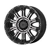 XD Series XD829 Hoss 2 Custom Wheel - 20x10, Satin Black Machined with Gray Tint Clear - Machined Rim