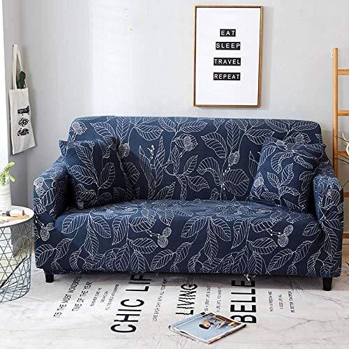 Funda Sofa Elastica Protector Adaptable,Funda de sofá con patrón impreso, funda de sofá elástica antideslizante, cojín de sofá universal para todas las estaciones, funda protectora de muebles de sala