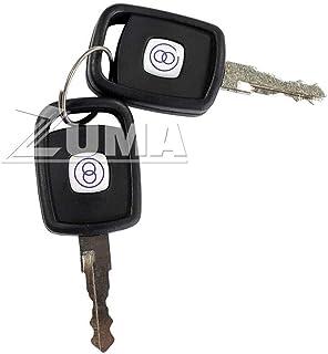 JLG 70022765 - New (Genuine OEM) JLG Telehandler Key (Set of 2 Keys)