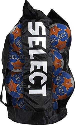 Select Handballsack groß, Für 14-16 Handbälle, schwarz, 7372000023
