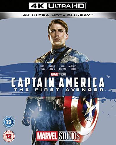 Captain America The First Avenger UHD [Blu-ray] [UK Import]