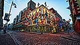 Rompecabezas 1000 piezas de rompecabezas de madera Clásico bricolaje Dublín Irlanda moderna decoración del hogar regalo de vacaciones arte de la pared