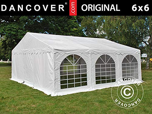 Dancover Partytent Original 6x6m PVC, Wit