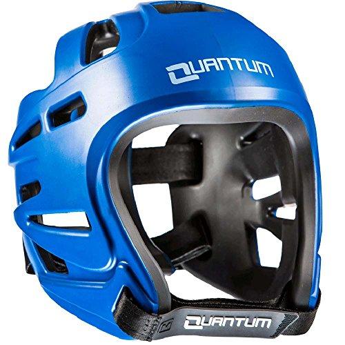 Quantum Kopfschutz RV, blau, Head Guard Protector, Wettkampf, MMA Größe L