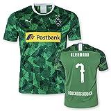 PUMA BMG Borussia Mönchengladbach Erwachsene Trikot Third Europapokaltrikot 2019/20, Größe:XL, Spielername:7 Herrmann