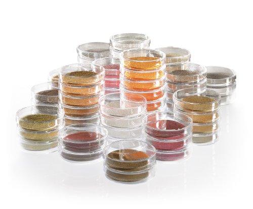 Sartorius biosart 14086–47- CCN Nährstoff Pad Set für Membran-Filter, malt Extrakt Media Type, 4,7cm Durchmesser, 0.45µm Poren, grau (100Stück)