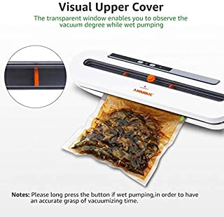 ANIMORE Food Vacuum Sealer For Food Saver 220V/110V Automatic Household Vacuum Sealer With 10pcs Vacuum Bags Sealing Machine