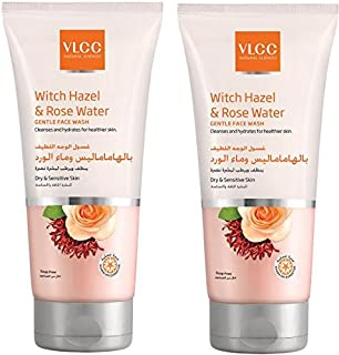 Vlcc Witch Hazel & Rose Water Gentle Face Wash 2 X 2 X 150 ml, Pack of 1