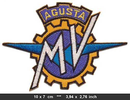 RG20 MV Agusta Aufnäher Patch Motorrad America Daytona Monza Grand Prix Italien v1