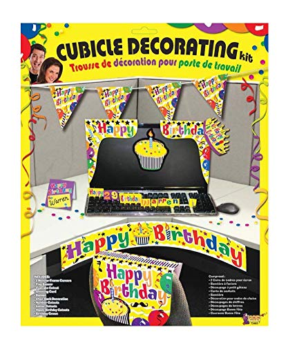 Happy Birthday Cubicle Décor