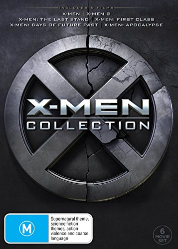 X-Men 1 & 2 / Last Stand / First Class / Days of Future Past /... | 6 Discs | NON-USA Format | PAL | Region 4 Import - Australia