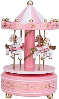 AUNMAS Merry-Go-Round Music Box Carrousel Musical Box pour Noël Mariage Cadeau d'anniversaire Boutique Affichage Artisanat...