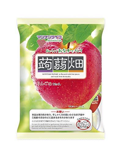 (お徳用ボックス) マンナンライフ 蒟蒻畑りんご味 25g×12個×12袋