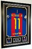 www.signedmemorabiliashop.co.uk New Neymar of Barcelona - Camiseta firmada
