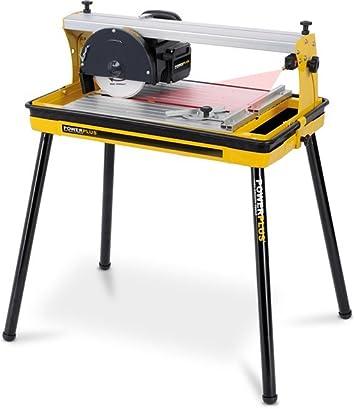 Varo Pow X240 Cutter Tagliapiastrelle A Umido Con Laser Disco Diamantato E Contenitore Acqua 600 W Amazon It Fai Da Te