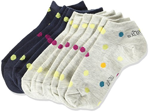 Pack de 8 para Ni/ños s.Oliver Socks Calcetines,