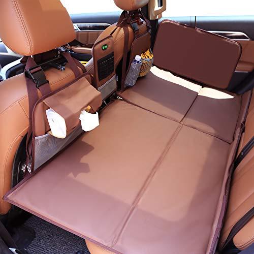 심장 말 비 팽창 식 자동차 매트리스 뒷좌석 자동차 침대 뒤 좌석 자동차 잠자는 매트리스 자동차 여행 침대 뒷좌석 SUV 트럭 미니 밴 컴팩트 트윈 크기