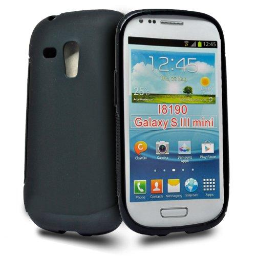 Samsung Galaxy S Iii 3 S3 Mini I8190 Custodia Cover Case Protezione Ultra Sottile Slim - Nera