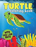 Turtle Coloring Book: A Coloring Book For Kids With Cool and Fun Facts About Sea Turtles (Kidd's Coloring Books)