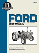 Ford Shop Manual Series 2000 3000 & 4000 < 1975 (I & T Shopservice)