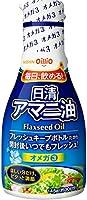 日清オイリオ 日清アマニ油 フレッシュキープボトル 145g×12本入