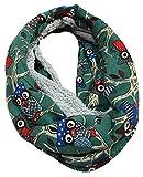 JameStyle26 Bufanda de invierno de forro polar con diseño de búho...