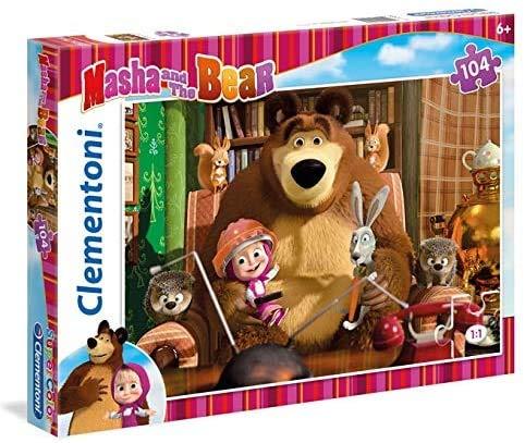 Puzzle Maxi, Masha and The Bear, 24 Piezas (240340)