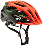 Alpina Valparola XC Casco de Bicicleta, Unisex Adulto, Rojo neón, Negro y Verde, 58-63 cm