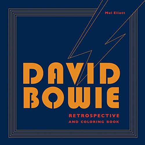 David Bowie Retrospective and Coloring Book (WATSON-GUPTILL)