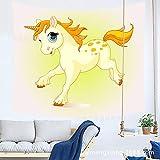 xkjymx Cartoon hangtag Tapisserie wandverkleidung Sofa Handtuch tischdecke Yoga Strandtuch Hause Stoff 210473 200 * 150 cm