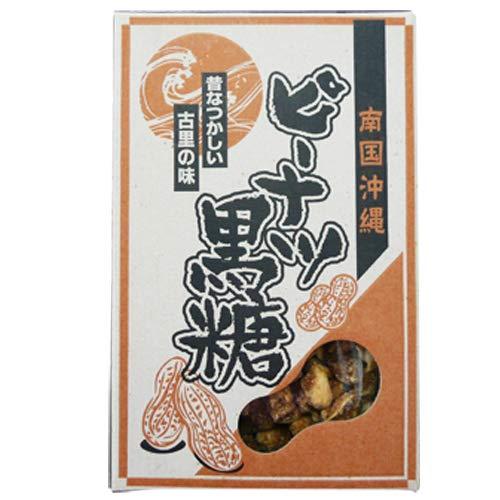 ピーナッツ黒糖 170g×20箱 仲宗根食品 加工黒糖 携帯に便利な一口タイプ お土産に便利な箱入り