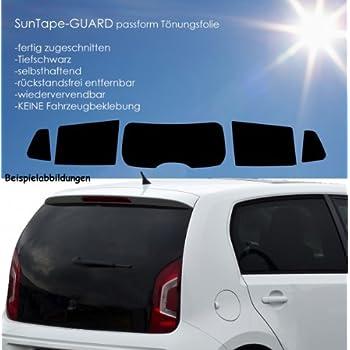 Passgenaue T/önungsfolien 3D Heckscheibenfolie 3 D vorgew/ölbt 50955 tiefschwarz HP 95 Lichtdurchl/ässigkeit 5/% W/ärmer/ückweisung 62/%
