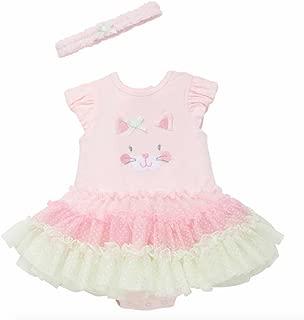 Little Me Baby Girls Tutu Popover Dress (9 Months, Pink Multi)