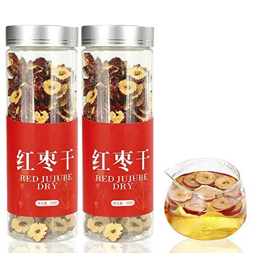 ナツメ 乾燥紅棗160g(80g*2) フルーツティー 紅棗 花茶 なつめチップ ドライフルーツ ( 種なし / 砂糖不使用 ) 漢方 食材 無添加