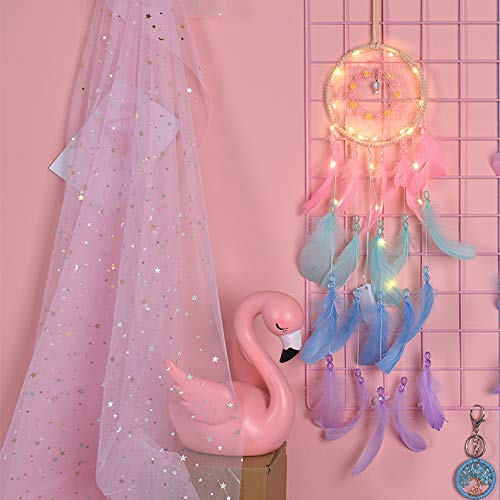 YCZZ Teenage Dream Net Lamp Handgemaakte Hot Air Balloon Veer Wind Chime Wind klokken