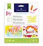Faber-Castell Mixed Media Paper Stencils (304 - Lettering/Calligraphy)