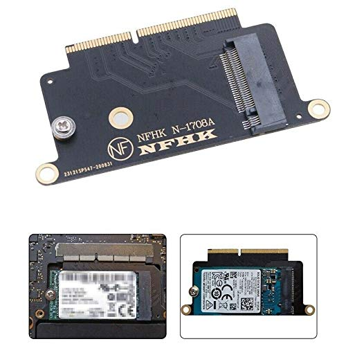Multibao NVMe M.2 NGFF SSD Adapter Card for 2016 2017 13' MacBook Pro A1708